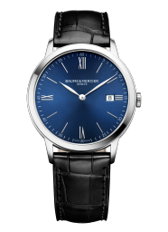 BAUME&MERCIER クォーツモデルなら薄型の時計もいいですね!